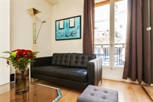 beautiful furnished apartment to rent for the weekend, sleeps 2, rue Paul Bert paris 11th
