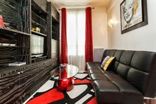 Modern apartment for 4, fully furnished and equipped for monthly or weekly stays, Paris XIV