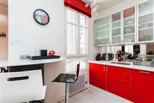 Vacation rental for 4 in fully furnished 2-room apartment, Paris 14th