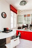 Weekly accommodation in well-lit, furnished apartment, sleeps 4, Paris XIV