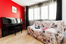 Short-term apartment rental for 4 steps from Montparnasse, Paris 14th