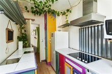 Turn-key short-term apartment rental sleeps 4, near Montmartre Paris XIV