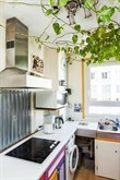 Modern 2-room turn-key flat for short-term rent near Montmartre Paris XIV