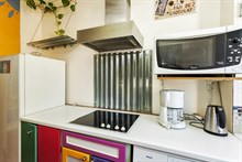 Live like a local in 2-room, 4-person apartment near Montmartre Paris XIV, rent by week or month