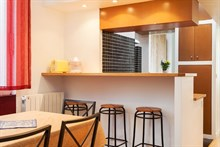 For rent: furnished apartment w/ 2 double bedrooms comfortably sleeps 7 in Montmartre Paris 18th