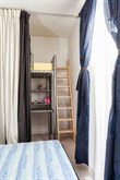 7-person vacation apartment for weekly or monthly rent on rue Francoeur, Paris 18th, 3 spacious rooms, furnished