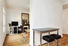 Romantic monthly or weekly vacation rental, modern, turn-key w/ 2 rooms on famed left bank, Cambronne Paris 15th