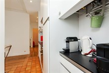 Large 2-room apartment available for weekly rental, perfect for romantic couple's getaway, calm area at Cambronne Paris 15th