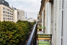 Monthly rental of a fully equipped apartment at Cambronne Paris 15th, 4-person, 2 rooms