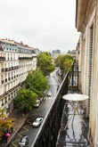 Weekly rental, 4-person furnished apartment with 2 double rooms and balcony at Turbigo Paris 3rd