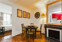 Short-term Paris vacation rental at Hotel de Ville Paris 4th District, perfect for family or friends, sleeps 4 w/ 2 bedrooms