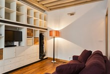 Monthly rental of a fully equipped studio apartment on rue des Dames, Paris 17th, Batignolles