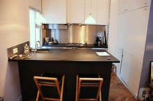 charming apartment to rent weekly furnished for 3 guests Paris St Sulpice 6th