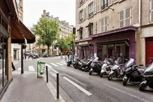 Weekly or montlhy studio rental in Batignolles, Paris 17th, Turn-key