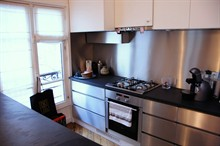 superb loft apartment to rent short term for 3 furnished and equipped Paris 6th
