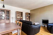 Monthly rental of a fully equipped apartment at Goncourt Paris 11th, 4-person, 2 rooms