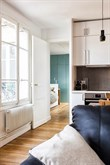 Weekly accommodation for 4 in luxurious furnished 1-bedroom flat near Goncourt, Paris XI