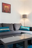 Monthly rental of a fully equipped studio apartment near Montparnasse Paris 5th, 2 or 4 person