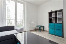 Short-term apartment rental for 4 w/ double bed and fold-out couch, near Luxembourg Gardens, Paris 5th