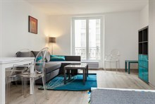 For rent: furnished studio apartment w/ bed and convertible couch comfortably sleeps 4 on rue Saint Jacques, Paris 5th