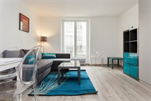 Turn-key studio apartment near Montparnasse, Paris 5th, available for business stays by the week or month