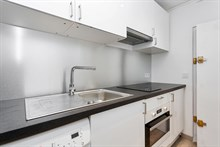 Live like a Parisian local near Luxembourg gardens, Paris 5th: furnished studio flat for 4 available for short stays