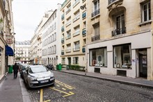Weekly rental, furnished 3-room apartment with 2 double bedrooms, between Montmartre & Grands Boulevards Paris 9th