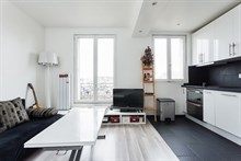Turn-key apartment for short-term rental, 2 rooms, fully furnished, 2-4 person accommodation near Montparnasse Paris 14th