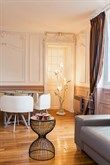 Weekly rental, 3-person furnished apartment with a double bed and couch on Rue du Buis, Paris 16th