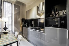 Spacious, furnished apartment for monthly rental on rue du Four at Saint Germain des Prés, Paris 6th