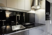Turn-key flat rental, fully furnished studio on rue du Four on Saint Germain des Prés, Paris 6th