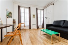 For rent: lovely short-term studio apartment for 2 at Montorgueil Paris 2nd