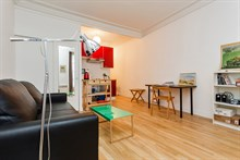 Accommodation for 2 in spacious studio flat in Paris 2nd district