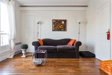 For rent: lovely short-term studio apartment for 2 at Oberkampf Paris 2nd