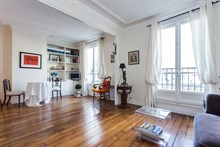 Studio flat rental for 2, short-term and fully furnished at Oberkampf Paris 2nd