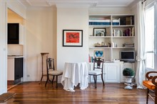 Modern, furnished vacation rental for short-term stays, sleeps 2 at Oberkampf, Paris 2nd