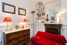 Studio flat rental for 2, short-term and fully furnished at Motte Picquet Grenelle, Paris 15th
