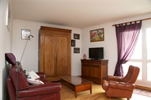 6-month + rental, furnished 3-room apartment with 2 double bedrooms, Kremlin Bicetre near Paris