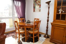 Short-term apartment rental for 4 w/ 2 spacious double rooms, Kremlin Bicetre near Paris
