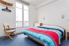 Short-term Paris vacation rental at Faubourg Saint Denis Paris 10th District, perfect for family or friends, sleeps 4