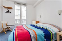 2-room apartment for weekly or monthly rent on rue du Faubourg Saint-Denis, Paris 10th, fully furnished