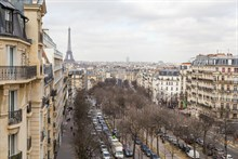 Fabulous weekly flat rental, furnished with 2-rooms near Montparnasse Tower, Paris 14th