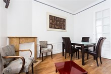 Authentic Parisian stay in nearby city of Neuilly, Furnished 2 bedroom for 2 to 3 guests for short-term stays