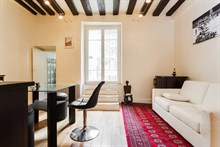 Short term rental for 4 center of Latin quarter Paris