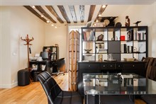 Seasonal rental spacious studio for 4 center Latin Paris