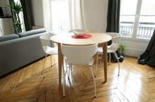 Vacation rental, fully furnished flat within walking distance of Paris attractions, Motte Picquet Paris 15th