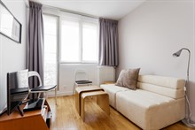 Modern, large flat for rent by month or year for 2 guests/4 guests near Hotel de Ville Paris 3rd