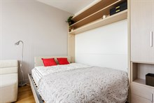 Honeymoon rental for 2 with bedroom in Paris near attractions such as the Centre Georges Pompidou in Paris 3rd district
