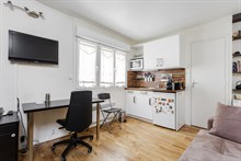 Modern studio flat for 2 for short-term stays Censier-Daubenton, Paris 5th