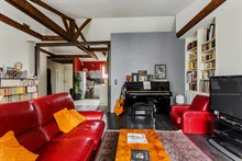 Vacation rental for family or friends with 2 rooms at Bastille, Paris 11th